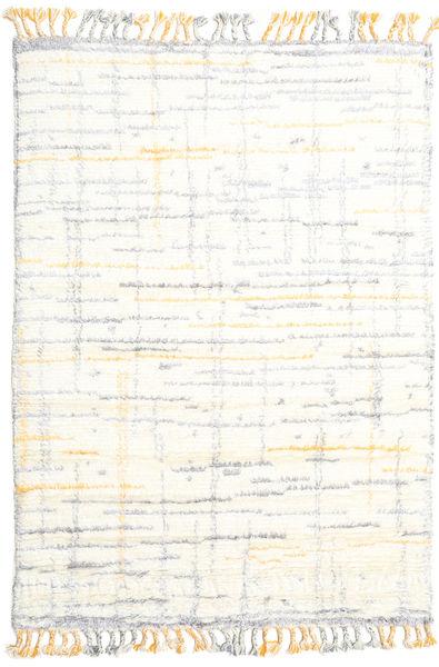Rakel Koberec 160X230 Moderní Ručně Tkaný Béžová/Bílý/Krém (Vlna, Indie)