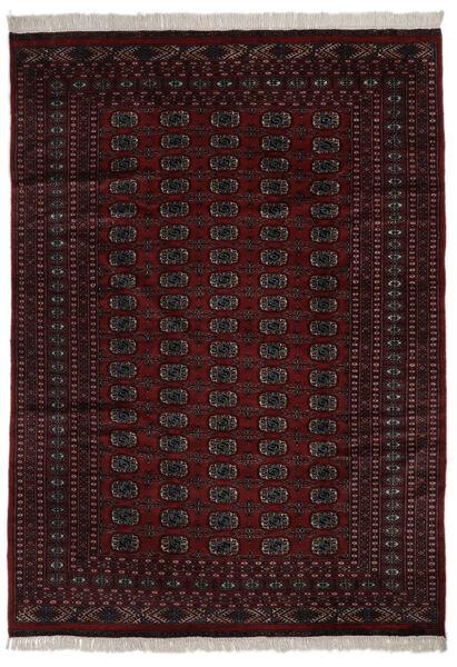 Pákistán Bokhara 2Ply Koberec 184X262 Orientální Ručně Tkaný Černá (Vlna, Pákistán)