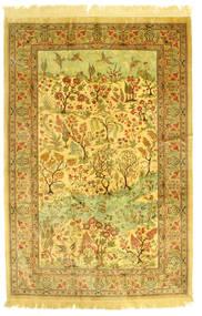 Ghom Hedvábí Figurální/Obrazový Koberec 131X198 Orientální Ručně Tkaný (Hedvábí, Persie/Írán)