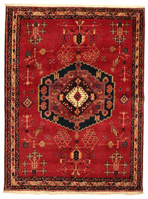 Afshar Koberec 176X232 Orientální Ručně Tkaný (Vlna, Persie/Írán)