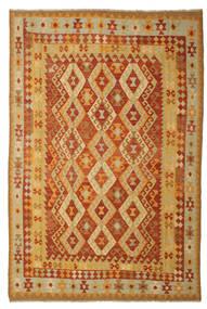 Kelim Afghán Old Style Koberec 197X293 Orientální Ruční Tkaní (Vlna, Afghánistán)