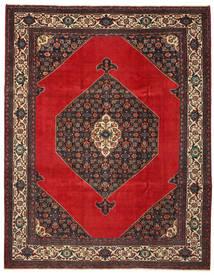 Hamedan Patina Koberec 271X348 Orientální Ručně Tkaný Tmavě Hnědá/Červenožlutá Velký (Vlna, Persie/Írán)
