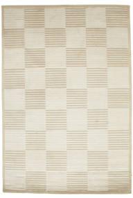 Pacific Line Square - White/Béžová Koberec 170X240 Moderní Ručně Tkaný Tmavá Béžová/Béžová ( Indie)