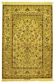 Isfahan Hedvábí Osnovní Materiál Figurální/Obrazový Zaregistrováno: Nasr Koberec 142X210 Orientální Ručně Tkaný (Vlna/Hedvábí, Persie/Írán)