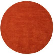 Handloom - Červenožlutá/Rudý Koberec Ø 150 Moderní Oválný Červenožlutá (Vlna, Indie)