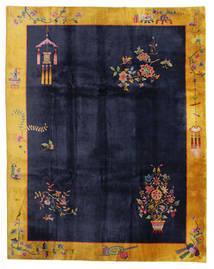 Čína Antický: Art Deco 1920 Koberec 280X355 Orientální Ručně Tkaný Černá/Tmavošedý Velký (Vlna, Čína)
