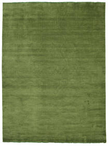 Handloom Fringes - Zelená Koberec 250X350 Moderní Olivově Zelený Velký (Vlna, Indie)