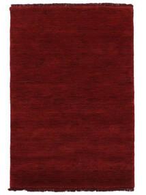 Handloom Fringes - Dark Red Koberec 200X300 Moderní Červená (Vlna, Indie)