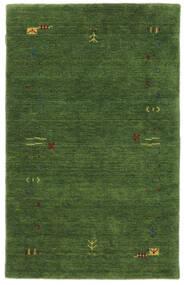 Gabbeh Loom Frame - Zelená Koberec 100X160 Moderní Tmavě Zelený/Tmavě Zelený (Vlna, Indie)
