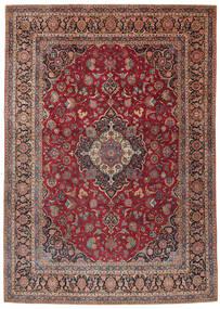 Keshan Koberec 275X385 Orientální Ručně Tkaný Tmavě Červená/Tmavě Hnědá Velký (Vlna, Persie/Írán)