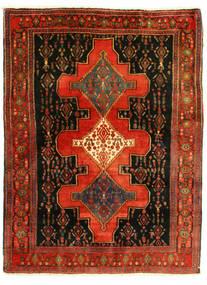 Senneh Koberec 126X175 Orientální Ručně Tkaný (Vlna, Persie/Írán)