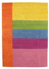 Colors By Meja Handtufted Koberec 160X230 Moderní Oranžová/Světle Růžová (Vlna, Indie)