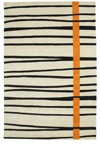 Gummi Twist Handtufted - Oranžová Koberec 200X300 Moderní Tmavá Béžová/Černá (Vlna, Indie)