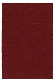 Kelim Loom - Dark Red Koberec 120X180 Moderní Ruční Tkaní Červená (Vlna, Indie)