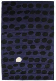 Camouflage Handtufted - Tmavý Koberec 200X300 Moderní Černá/Tmavě Modrý (Vlna, Indie)
