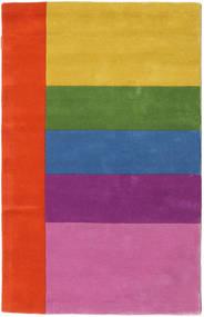 Colors By Meja Handtufted Koberec 100X160 Moderní Růžová/Červenožlutá (Vlna, Indie)