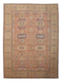 Egypt Koberec 418X559 Orientální Ručně Tkaný Hnědá/Tmavě Červená Velký (Vlna, Egypt)