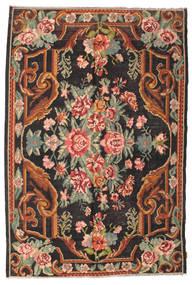 Kilim Rose Moldavia Koberec 184X277 Orientální Ruční Tkaní Černá/Tmavošedý (Vlna, Moldavsko)