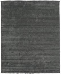 Handloom Fringes - Tmavošedý Koberec 250X300 Moderní Tmavě Zelený/Tmavě Zelený Velký (Vlna, Indie)