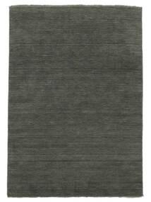 Handloom Fringes - Tmavošedý Koberec 200X300 Moderní Tmavošedý (Vlna, Indie)