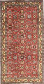 Tabriz Patina Koberec 168X318 Orientální Ručně Tkaný Tmavě Červená/Světle Hnědá (Vlna, Persie/Írán)