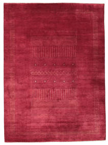 Gabbeh Loribaft Koberec 203X278 Moderní Ručně Tkaný Červená/Tmavě Červená (Vlna, Indie)