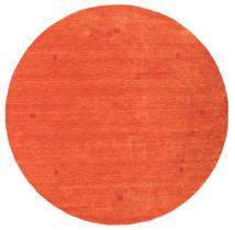 Loribaf Loom Koberec Ø 202 Moderní Ručně Tkaný Oválný Oranžová/Červená (Vlna, Indie)