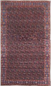 Senneh Koberec 368X639 Orientální Ručně Tkaný Tmavě Hnědá/Nachový Velký (Vlna, Persie/Írán)