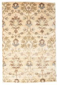 Himalaya Koberec 178X268 Moderní Ručně Tkaný Béžová/Bílý/Krém (Vlna/Hedvábí Bambus, Indie)
