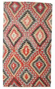 Kelim Semi Antický Turecko Koberec 170X298 Orientální Ruční Tkaní Světle Šedá/Červenožlutá (Vlna, Turecko)