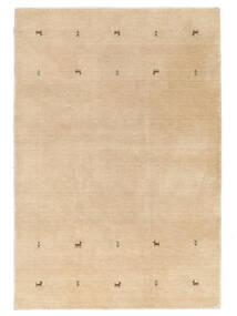 Gabbeh Loom Two Lines - Béžová Koberec 160X230 Moderní Tmavá Béžová/Světle Hnědá (Vlna, Indie)