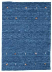 Gabbeh Loom Two Lines - Modrá Koberec 140X200 Moderní Tmavě Modrý/Modrá (Vlna, Indie)