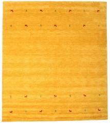 Gabbeh Loom Two Lines - Yellow Koberec 240X290 Moderní Žlutý/Oranžová (Vlna, Indie)