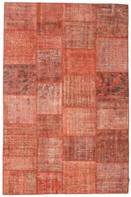 Patchwork Koberec 197X300 Moderní Ručně Tkaný Červená/Světle Růžová (Vlna, Turecko)