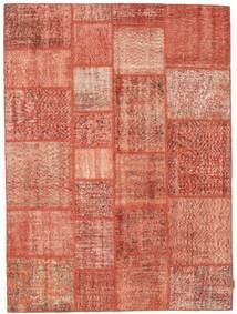 Patchwork Koberec 170X231 Moderní Ručně Tkaný Světle Růžová/Červená (Vlna, Turecko)