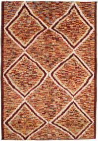 Barchi/Moroccan Berber Koberec 197X292 Moderní Ručně Tkaný Tmavě Červená/Červená (Vlna, Afghánistán)