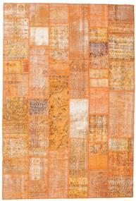 Patchwork Koberec 200X298 Moderní Ručně Tkaný Oranžová/Světle Hnědá (Vlna, Turecko)