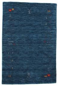 Gabbeh Loom Frame - Tmavě Modrý Koberec 100X160 Moderní Tmavě Modrý (Vlna, Indie)