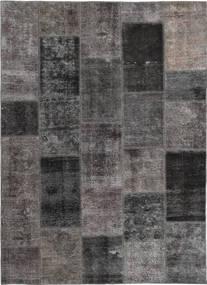 Patchwork Koberec 165X237 Moderní Ručně Tkaný Tmavošedý/Hnědá (Vlna, Persie/Írán)