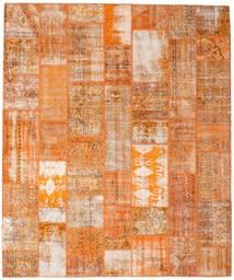 Patchwork Koberec 253X304 Moderní Ručně Tkaný Světle Hnědá/Oranžová Velký (Vlna, Turecko)