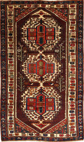 Bakhtiar Koberec 156X280 Orientální Ručně Tkaný Tmavě Hnědá/Tmavě Červená (Vlna, Persie/Írán)