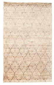 Damask Koberec 169X270 Moderní Ručně Tkaný Béžová/Žlutý ( Indie)