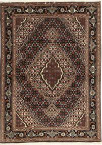 Tabriz 40 Raj Koberec 107X149 Orientální Ručně Tkaný Tmavě Červená/Tmavě Hnědá (Vlna/Hedvábí, Persie/Írán)