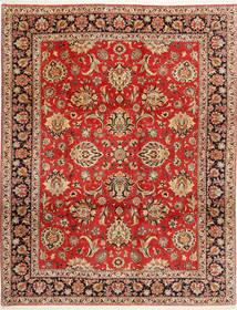 Bidjar Koberec 312X402 Orientální Ručně Tkaný Červenožlutá/Tmavě Hnědá Velký (Vlna/Hedvábí, Persie/Írán)