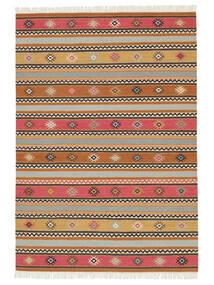 Kelim - Nezzim - Nezzim Koberec 170X240 Moderní Ruční Tkaní Světle Hnědá/Světle Šedá ( Indie)