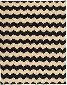 Kelim Moderní Koberec 184X235 Moderní Ručně Tkaný Černá/Světle Hnědá/Béžová (Vlna, Afghánistán)