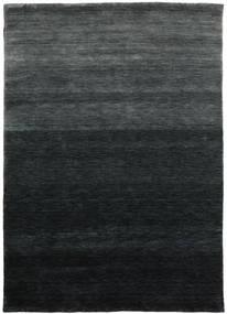 Gabbeh Up To Down Koberec 160X230 Moderní Černá/Tmavě Zelený (Vlna, Indie)