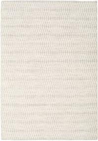 Kelim Long Stitch - Béžová Koberec 160X230 Moderní Ruční Tkaní Světle Šedá/Béžová (Vlna, Indie)