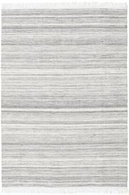Diamond Vlna - Šedá Koberec 160X230 Moderní Ruční Tkaní Světle Šedá/Bílý/Krém (Vlna, Indie)