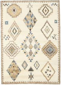 Berber Indické - Bělavý/Béžová Koberec 160X230 Moderní Ručně Tkaný Béžová/Světle Hnědá (Vlna, Indie)